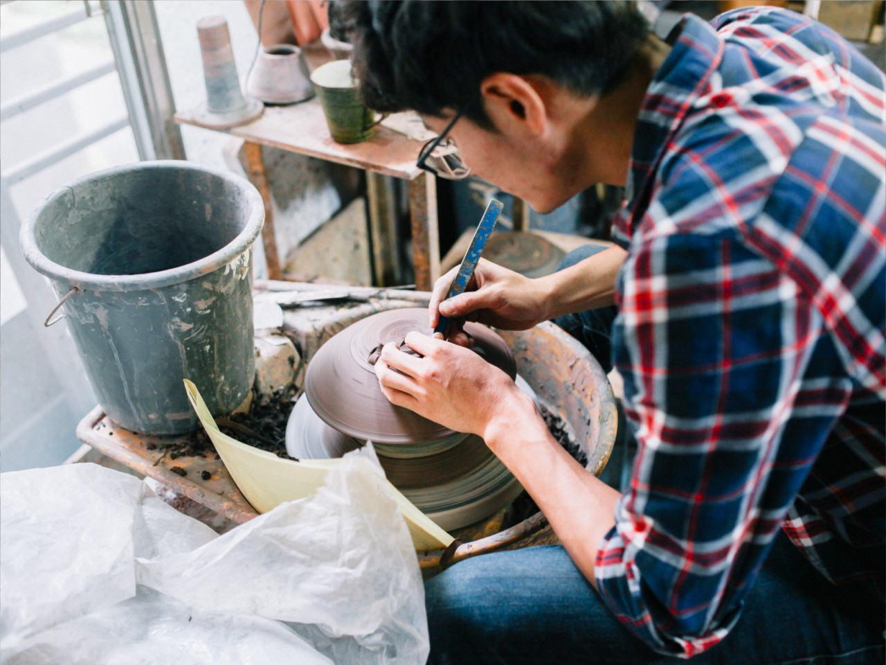 Bouillon Pottery AICHI